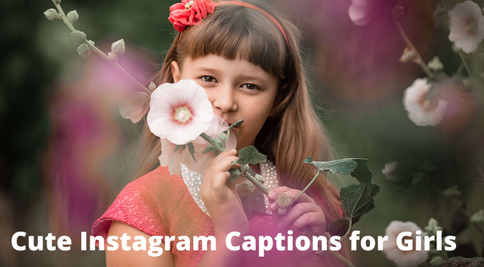 Cute Instagram Captions for Girls